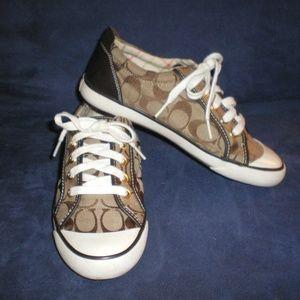 COACH Brown Barrett Tennis Shoes/Sneakers sz 7B-#2